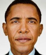Barack Obama, 2004, série Portraits/Martin Schoeller/Reprodução