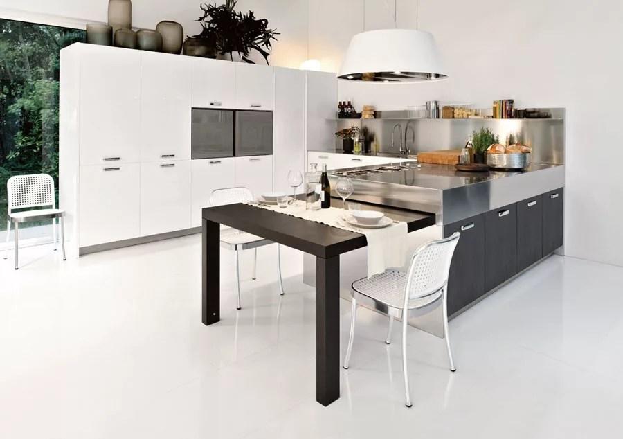 50 Foto di Cucine Moderne con Penisola  MondoDesignit