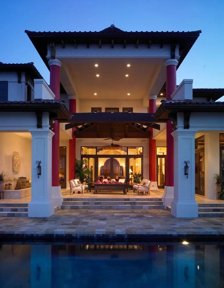 Facciate ed Esterni di Case Moderne dal Design Asiatico  MondoDesignit