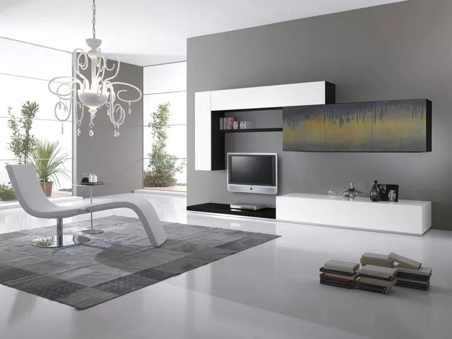 Pareti Attrezzate Moderne 70 Idee di Design per Arredare