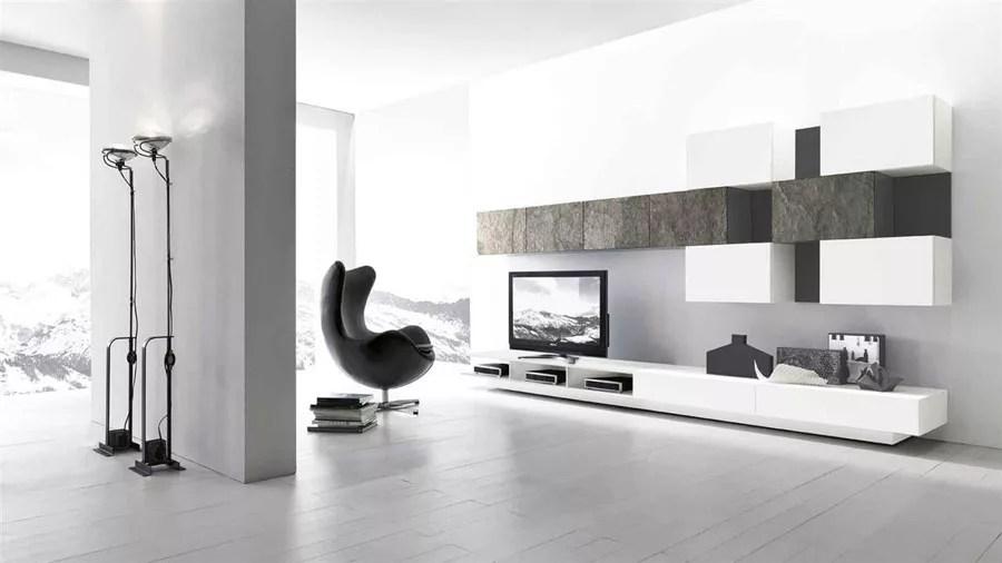 Vieni in negozio ed affidati alla nostra consulenza per la progettazione del tuo spazio living…. Pareti Attrezzate Moderne 100 Idee Di Design Per Arredare Casa Mondodesign It