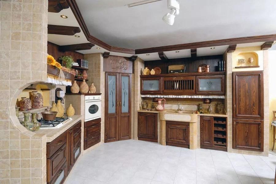30 Foto di Cucine in Muratura Moderne  MondoDesignit