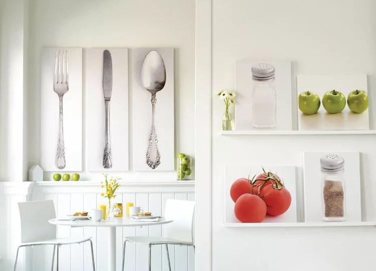 50 Quadri Moderni per Cucina Stampe su Tela Componibili
