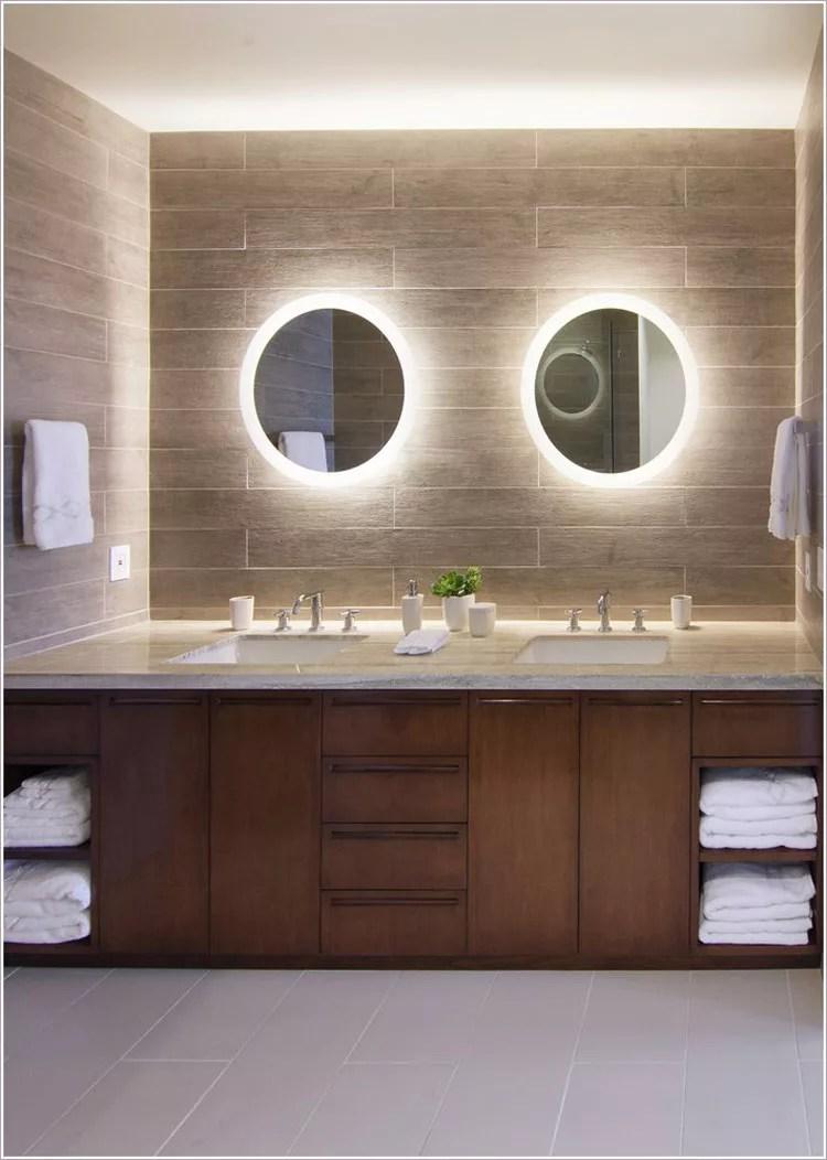 70 Specchi per Bagno Moderni dal Design Particolare  MondoDesignit