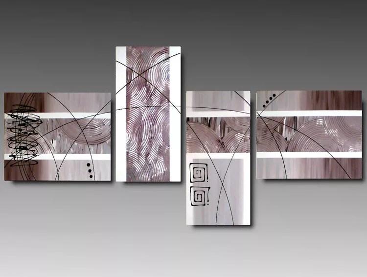 40 Quadri Moderni Astratti per la Camera da Letto