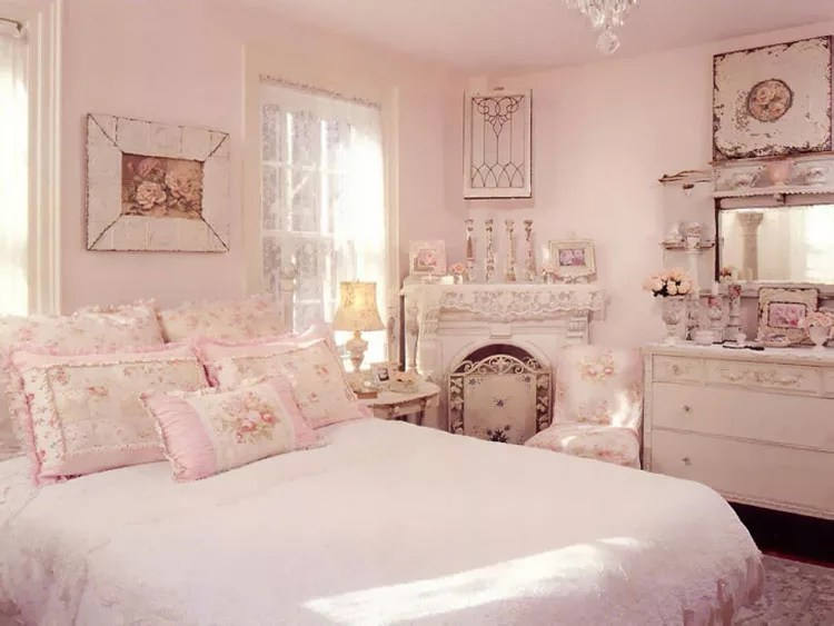 Hemnes, ragazze da camera, consigli di decorazione, comò, idee per la camera, legno, stanze da letto. 85 Esempi Di Arredamento Shabby Chic Per La Camera Da Letto Mondodesign It
