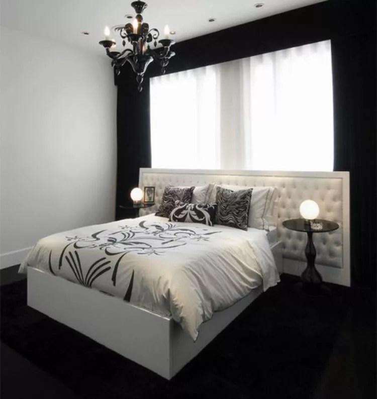 35 Eleganti Camere da Letto in Bianco e Nero  MondoDesignit
