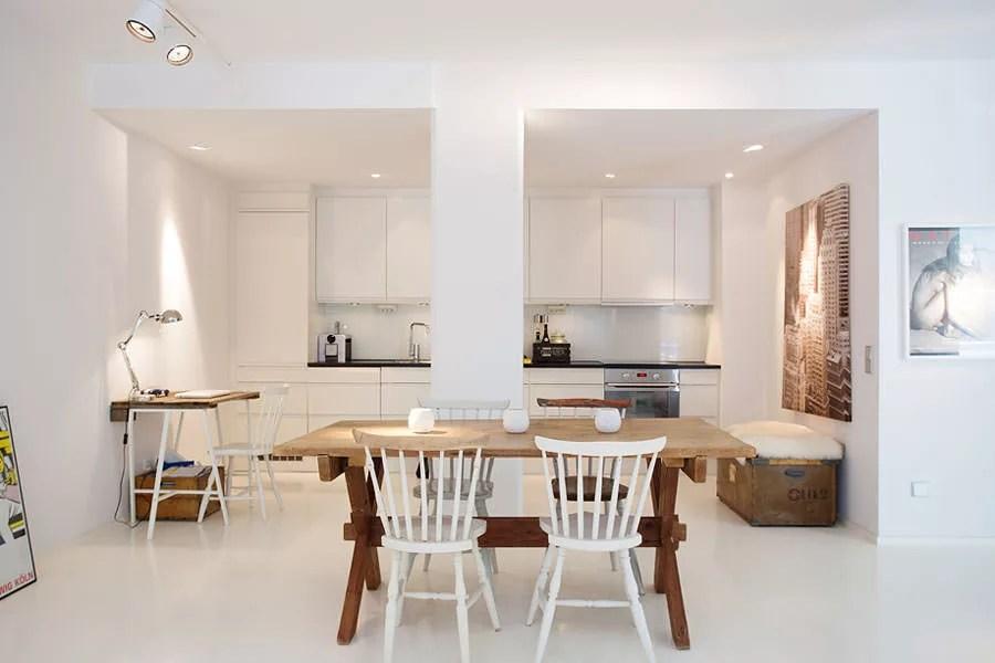 30 Modelli di Cucine Bianche dal Design Scandinavo  MondoDesignit