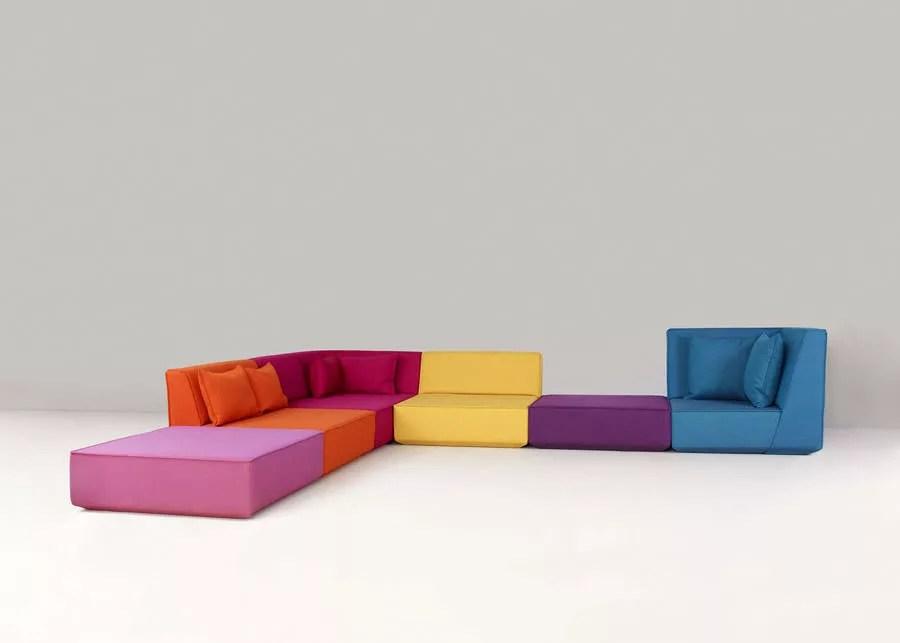 50 Divani Componibili o Modulari dal Design Moderno  MondoDesignit