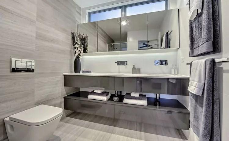 20 Idee Di Arredamento Bagno In Grigio