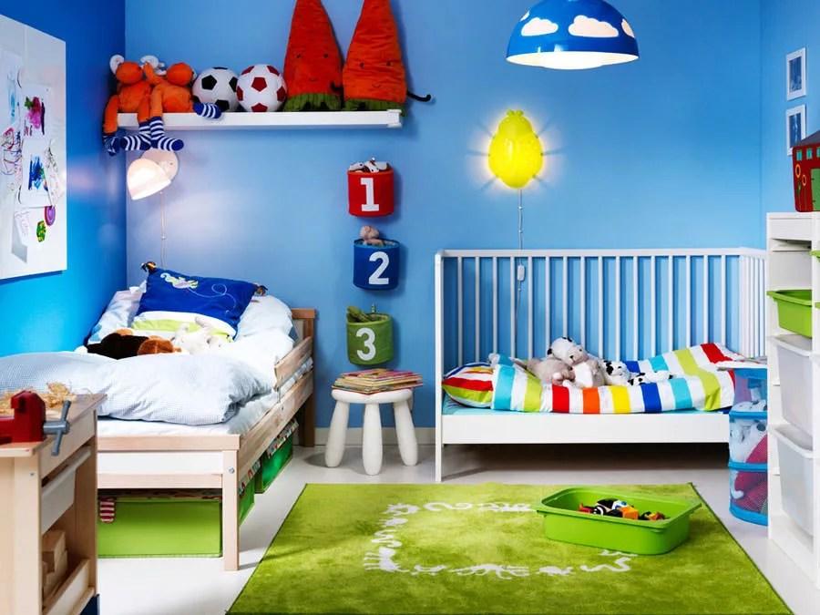 Il celeste è per i bimbi, mentre il blu può andar bene per entambi, maschi e femmine. 70 Idee Per Colori Di Pareti Di Camerette Per Bambini Mondodesign It