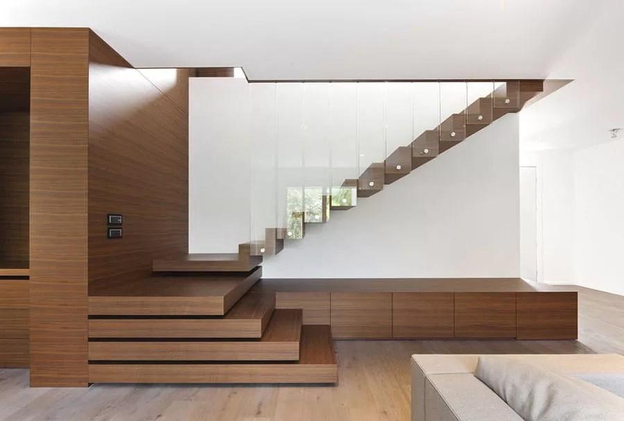 Le case moderne in pietra sono un incontro inaspettato. 130 Foto Di Scale Interne Di Design Mondodesign It