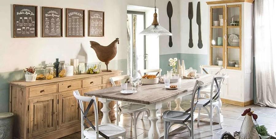 La cura del dettaglio, il recupero dei mobili e degli. 45 Idee Per Arredare La Sala Da Pranzo Shabby Chic Mondodesign It