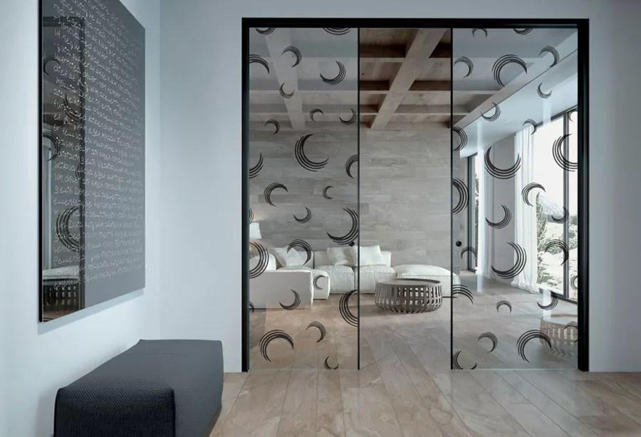 Porte Scorrevoli in Vetro per Interni dal Design Moderno  MondoDesignit