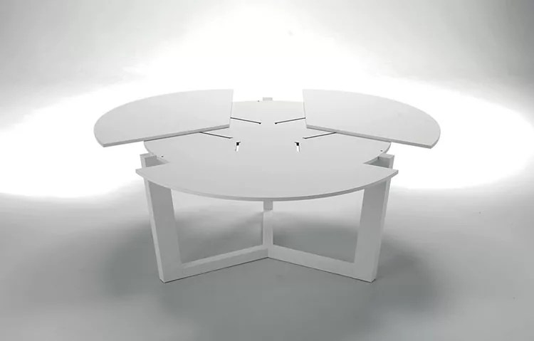 Tavoli Rotondi Allungabili dal Design Moderno  MondoDesignit