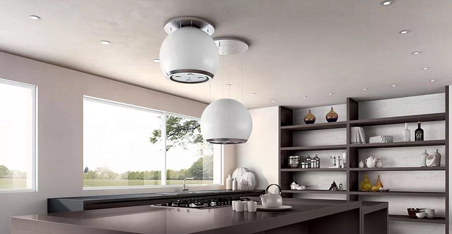 Cappe per Cucine con Isola dal Design Originale
