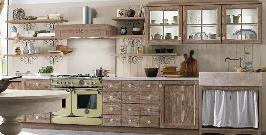 cucine e living | veneta cucine. 25 Foto Di Cucine Country Chic Per Uno Stile Romantico E Raffinato Mondodesign It