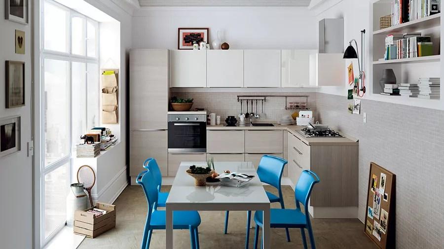 Idee per Arredare Cucine Piccole con Scavolini