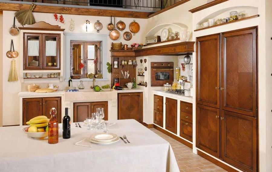 Cucina Muratura Grande