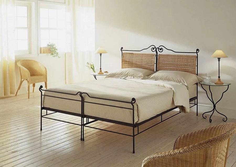 Letto matrimoniale in ferro battuto marca ciacci 01 design del letto,. Letti Shabby Chic 35 Idee Per Arredare In Stile Provenzale Mondodesign It