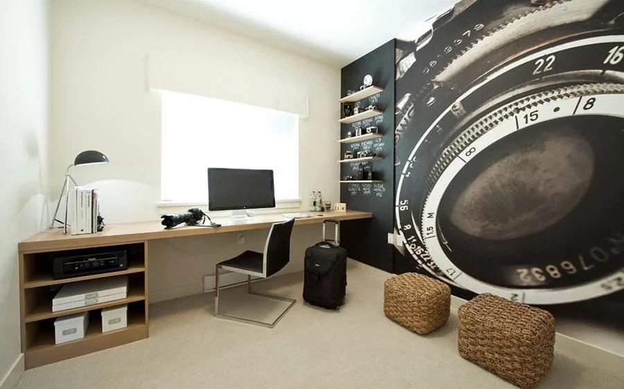 E in un ambiente come questo un mappamondo è il complemento d'arredo ideale. 47 Idee Di Design Per Arredare Uno Studio In Casa Mondodesign It