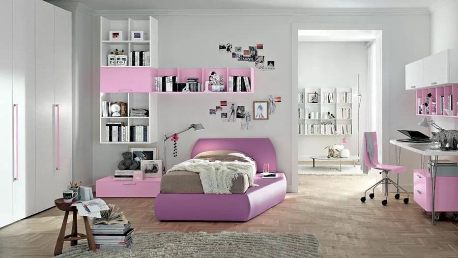 Mensole, librerie e complementi per l. 38 Idee Originali Per Camerette Moderne Per Ragazze Mondodesign It