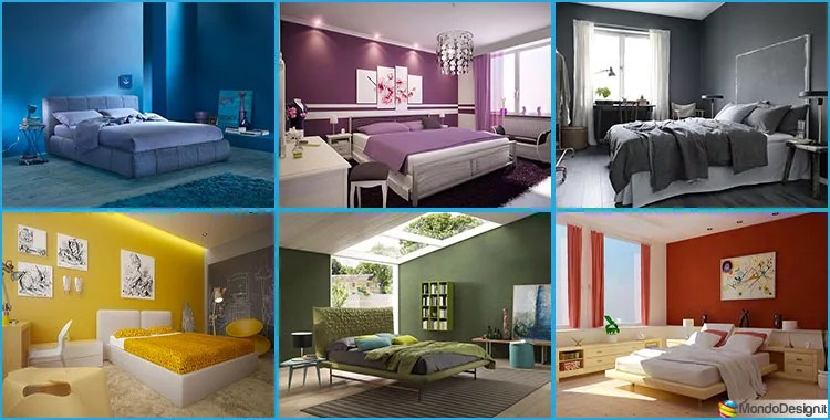50 Idee per Colori di Pareti per la Camera da Letto  MondoDesignit