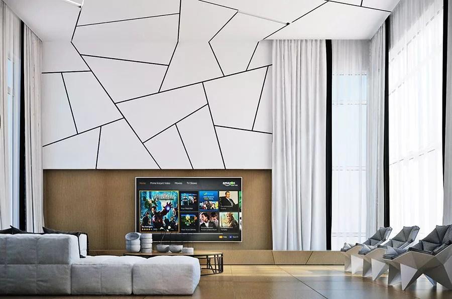 Quindi se vuoi decorare o rivestire pareti interne o esterne in pietra, o rivestire dei muri, la pietra della lessinia (o di prun), può fare al caso tuo. Rivestimenti Per Pareti Del Soggiorno 40 Idee Di Design Mondodesign It