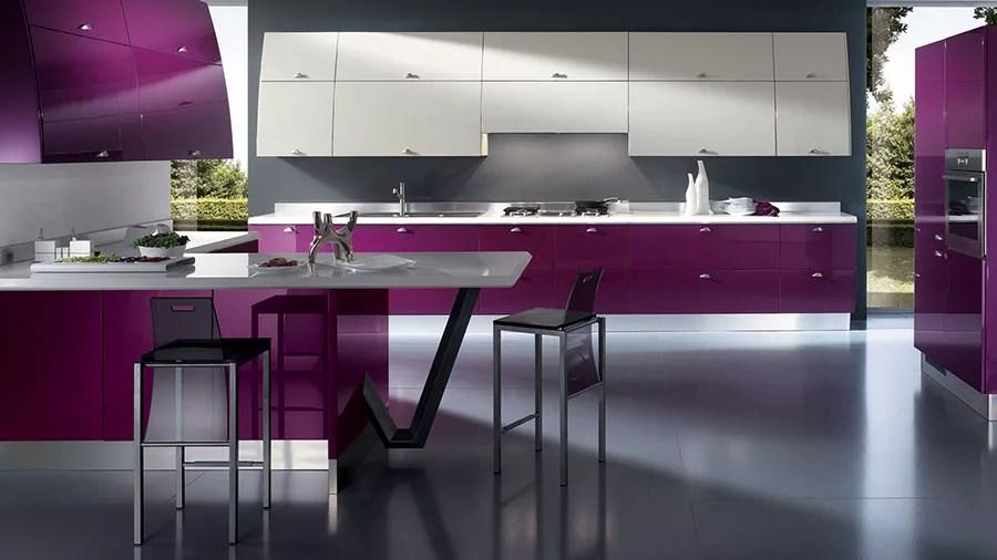 Cucina Scavolini Viola