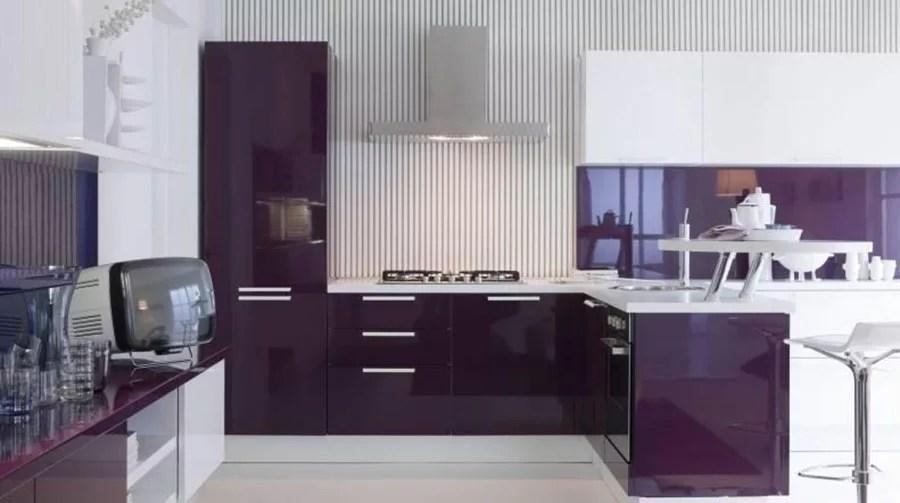 20 Modelli di Cucine Viola delle Migliori Marche