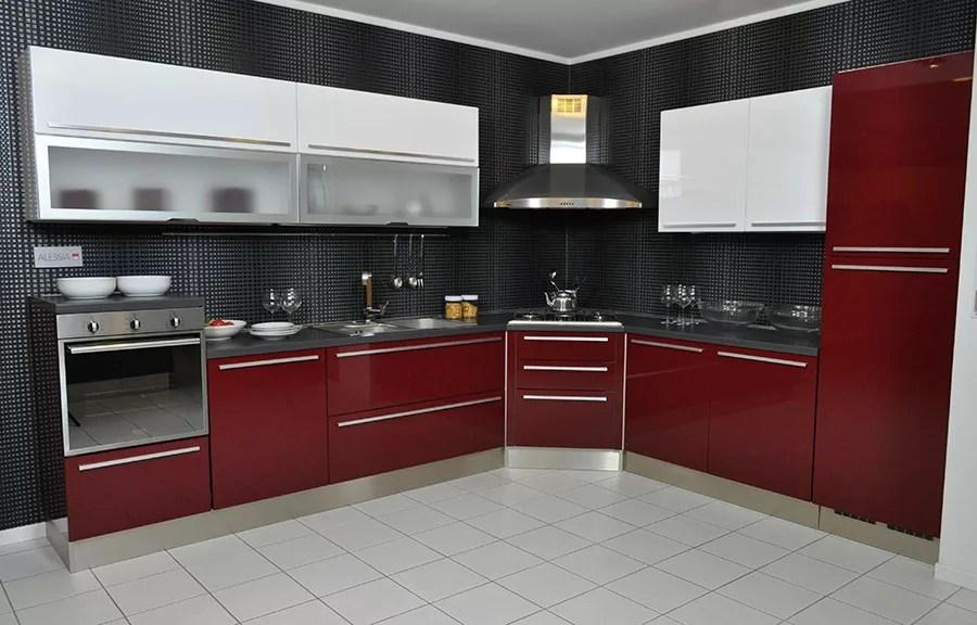 Cucina Moderna Rossa | Iko Studio Galleria - Iko Studio ...