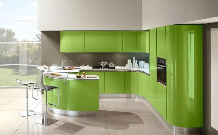20 Modelli di Cucine Verdi dal Design Moderno  MondoDesignit