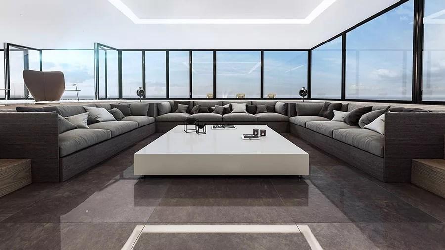 Interni di Lusso 5 Progetti di Arredo Moderno in Bianco e Nero  MondoDesignit