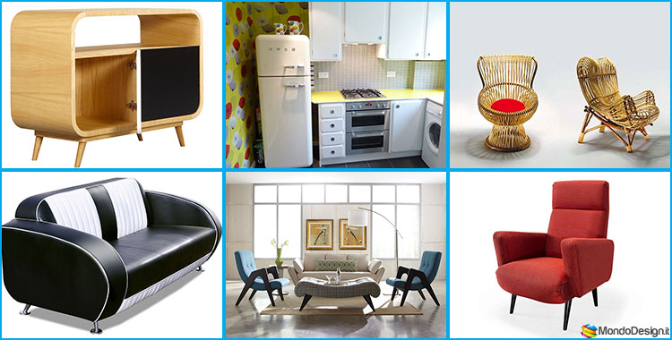 Cucine Vintage in Stile Anni 50 Ecco 20 Modelli a cui Ispirarsi  MondoDesignit
