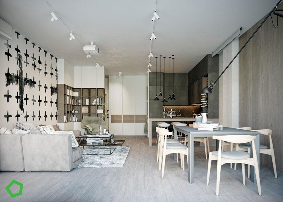 Il tavolo è un altro degli arredi centrali del soggiorno: 47 Idee Per Arredare Salotto E Sala Da Pranzo Insieme Mondodesign It