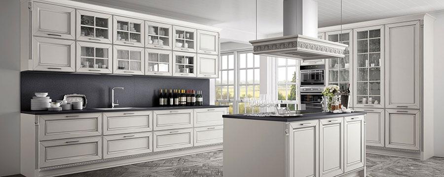 Cucina Classica Bianca ecco 30 Modelli delle Migliori