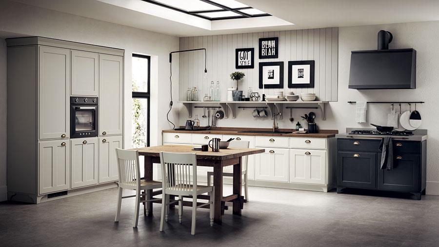 Cucina Classica Marche | Cucine Classiche Con Isola Centrale ...