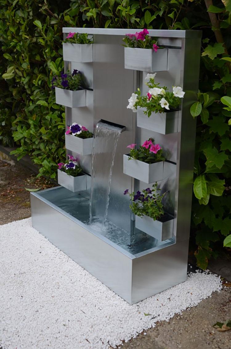 L'universo delle fontane da giardino è praticamente infinito, come infinite sono le possibilità di scelta e le combinazioni a vostra disposizione. 25 Modelli Di Fontane Da Giardino Moderne Di Design Mondodesign It