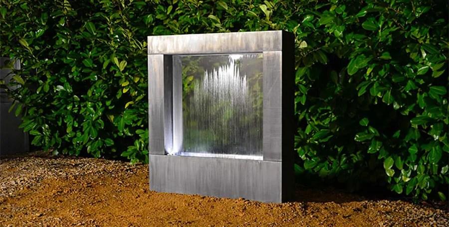 Fontane da giardino in cemento, pietra e metallo: 25 Modelli Di Fontane Da Giardino Moderne Di Design Mondodesign It