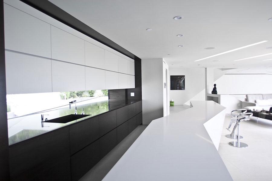 Cucina Bianca e Nera eccovi 20 Modelli dal Design Moderno  MondoDesignit