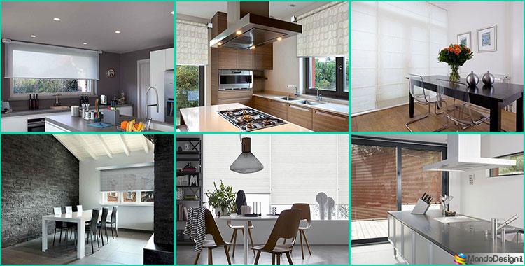 Idee per Tende da Cucina Moderne di Vari Modelli