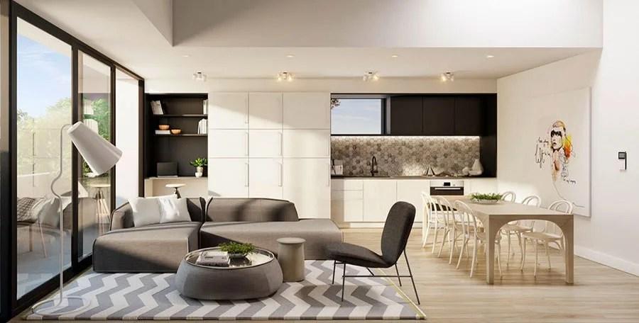 Con un tavolino da caffè di design al centro, un tappeto, poltrone e puff così da avere più posti a disposizione per il convivio. Come Arredare Open Space Cucina Soggiorno 46 Progetti Ed Idee Mondodesign It