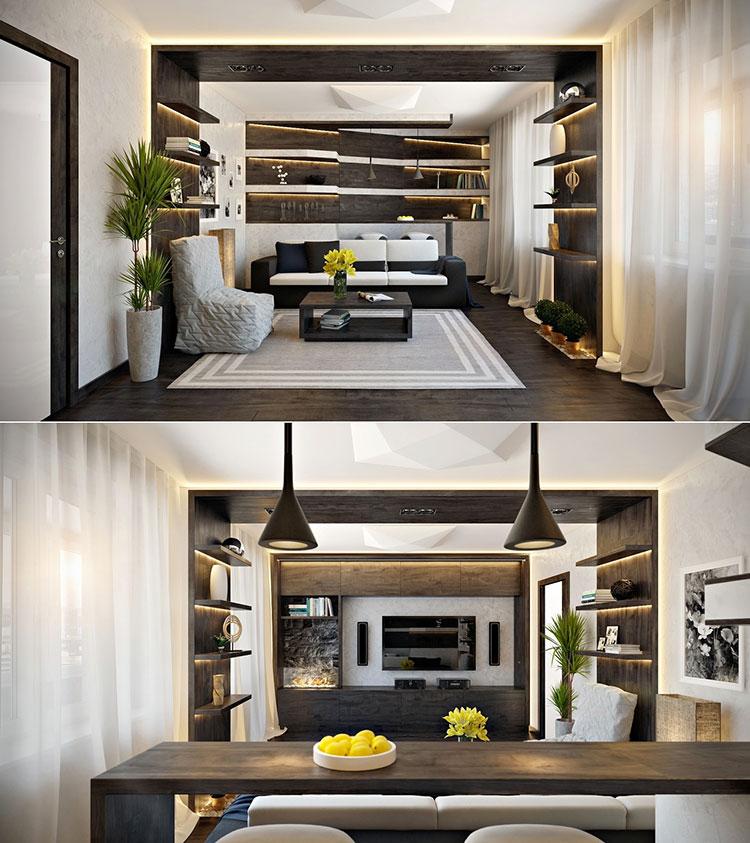 Trova tantissime idee per cucina soggiorno open space 25 mq. Come Arredare Un Open Space Di 20 30 Mq Mondodesign It