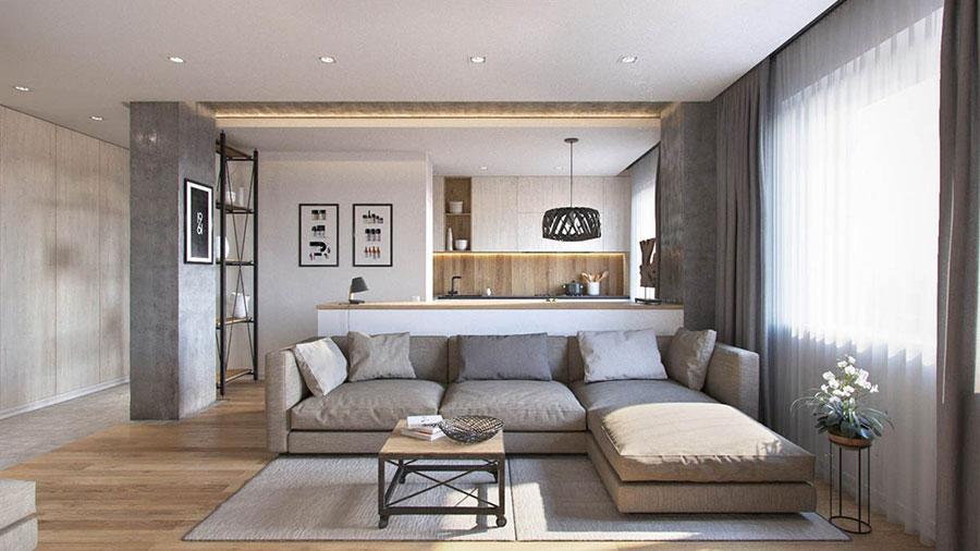 Come Arredare una Casa di 70 Mq ecco 3 Progetti Sorprendenti  MondoDesignit
