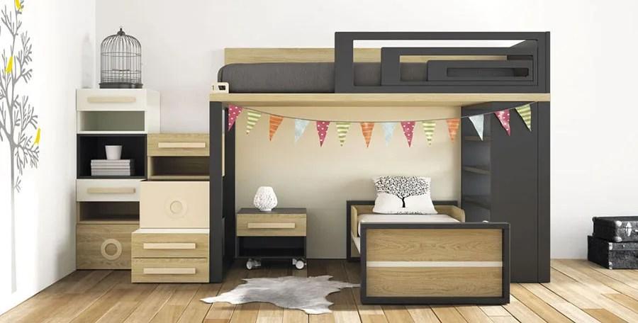 Visualizza altre idee su camerette, cameretta bambini idee, camere da letto ragazze. Camerette Salvaspazio Per Bambini E Ragazzi Mondodesign It