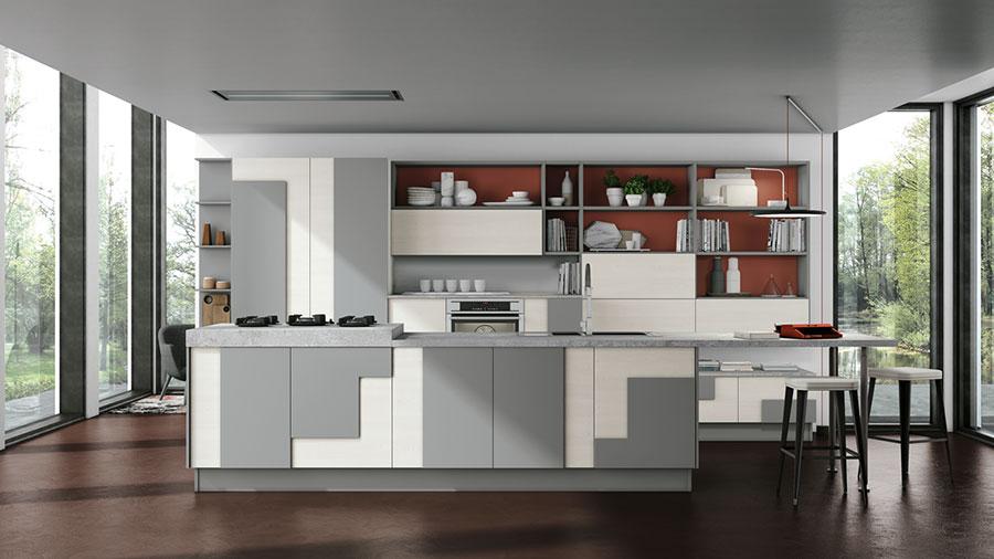 20 Modelli di Cucine Bianche e Grigie Moderne  MondoDesignit