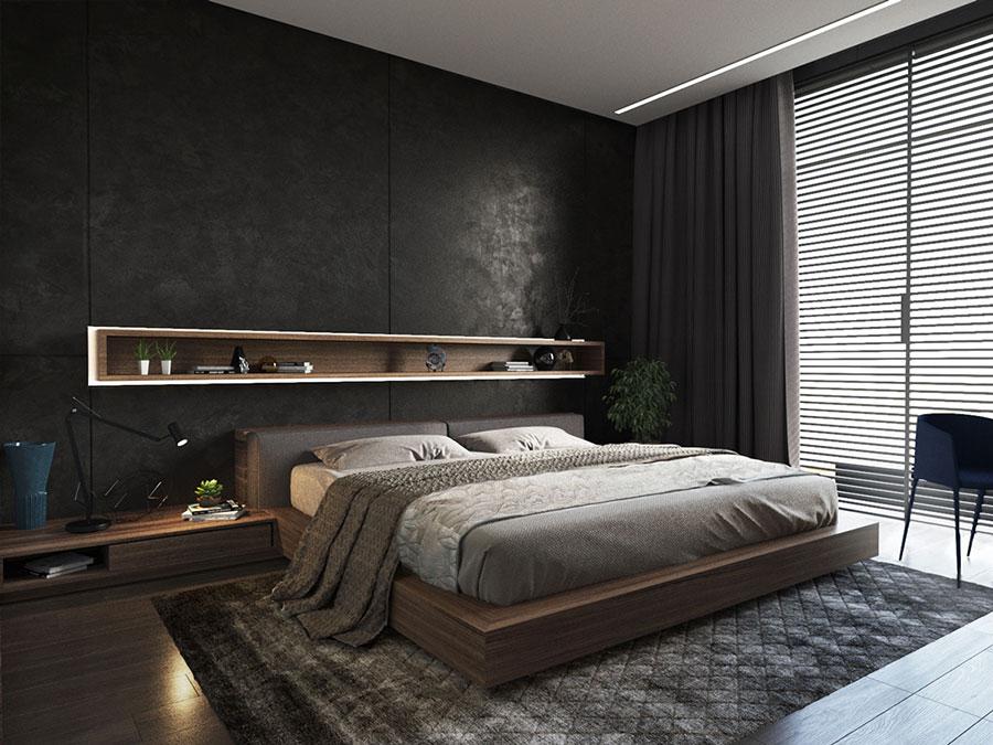 Camera da Letto Nera 20 Idee per Arredi di Design in Stile Dark  MondoDesignit