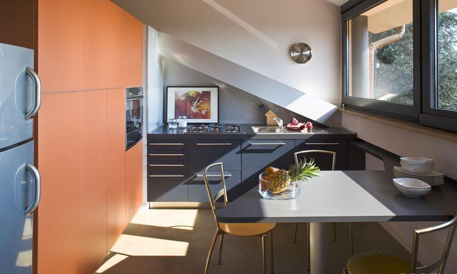 Idee per Arredare una Cucina in Mansarda  MondoDesignit