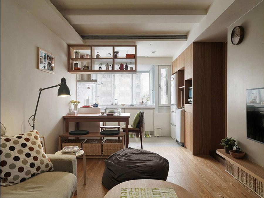 Avrei bisogno di un aiuto su come finire di arredare il mio openspace soggiorno cucina di 30 mq. Come Arredare Un Open Space Di 20 30 Mq Mondodesign It