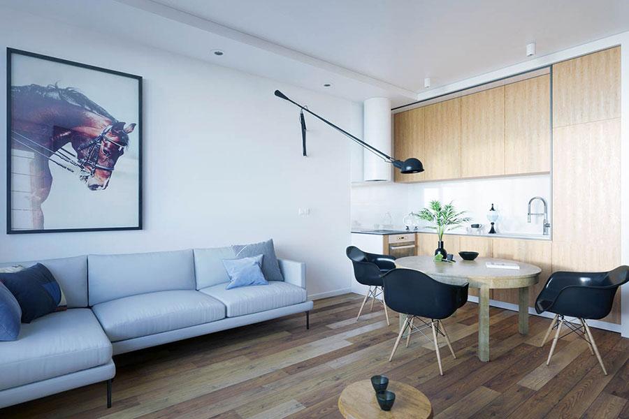La scelta dello stile dipende da molti criteri: Come Arredare Un Open Space Di 20 30 Mq Mondodesign It